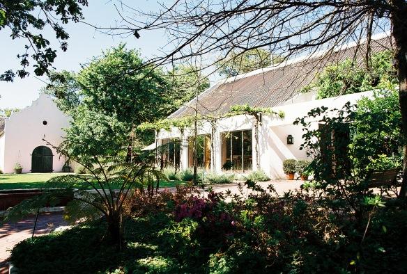 Rust en Vrede winery in Stellenbosch