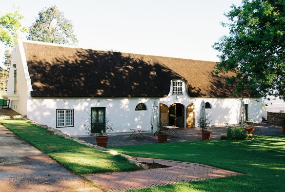 Boschendal Manor House,