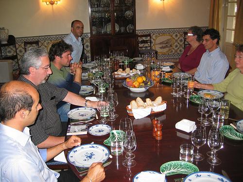 lunch at Quinta do Bomfim
