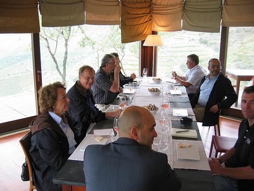 Lunch at Redondo at Quinta da Romaneira