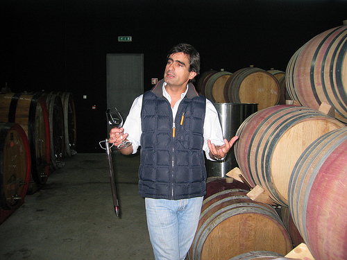 Luis Seabra, winemaker, at Niepoort/Napoles