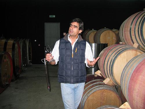 Luis Seabra, winemaker, at Niepoort/Napoles