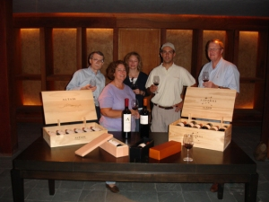 our tasting at Altair