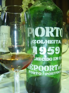 Port brought by Luis Seabra to dinner at DOC
