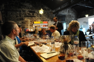 Tasting at Offley's lodge with Luis Sotomayor, winemaker for Sogrape