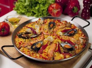 our paella at Fragata