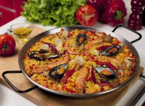 our paella at Fragata