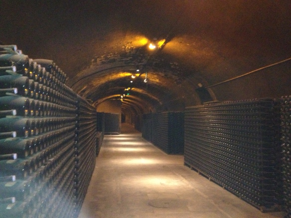 the cellars at Krug