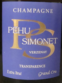 the different colored labels of Pehu Simonet are distinctive