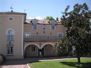 owners' personal residence at Marques de Vargas