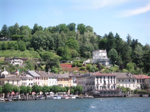 Orta San Giulio, on the way to the island of San Giulio
