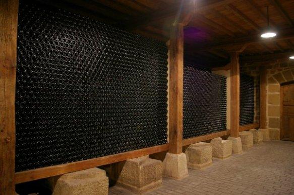 in the cellars of Remirez de Ganuza