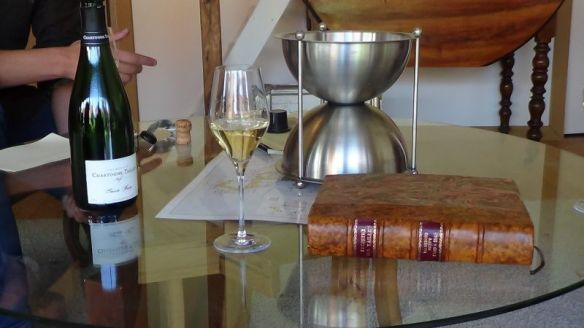 our tasting at Champagne Chartogne-Taillet