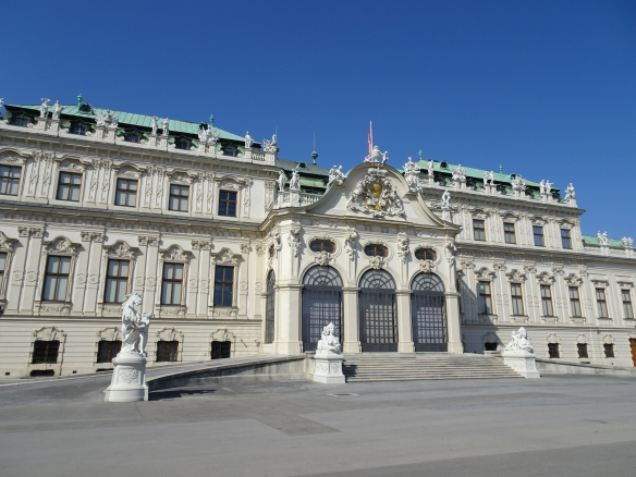 Walking Tour of Vienna - the Belvedere