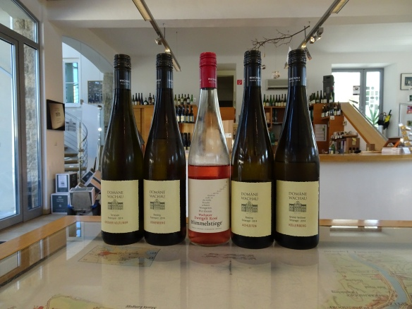 our tasting at Domäne Wachau