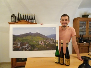 Franz Hofbauer at our tasting