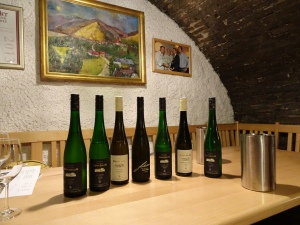 our tasting at Johann Donabaum