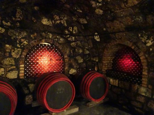 the cellars of Hudácskó Pincészet