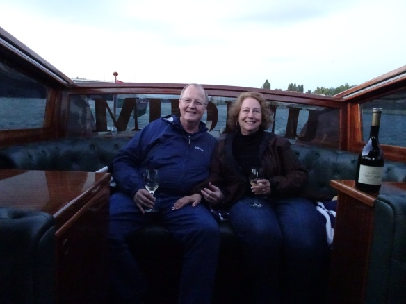 Charlie and me on the Danube River cruise