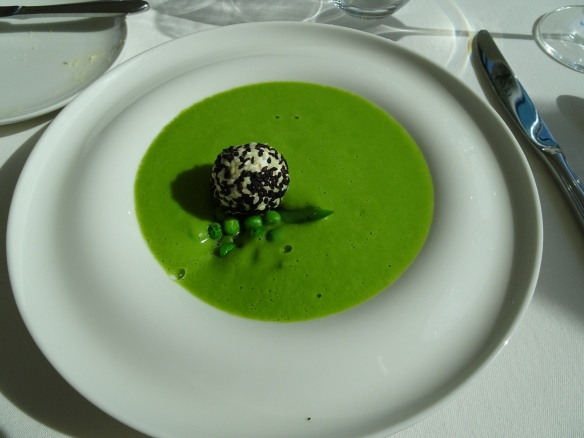 our soup course at our lunch at Viator